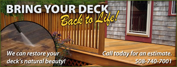 Deck Cleaning and Deck Restoration and Staining