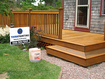 Deck cleaning, repairing and finishing!