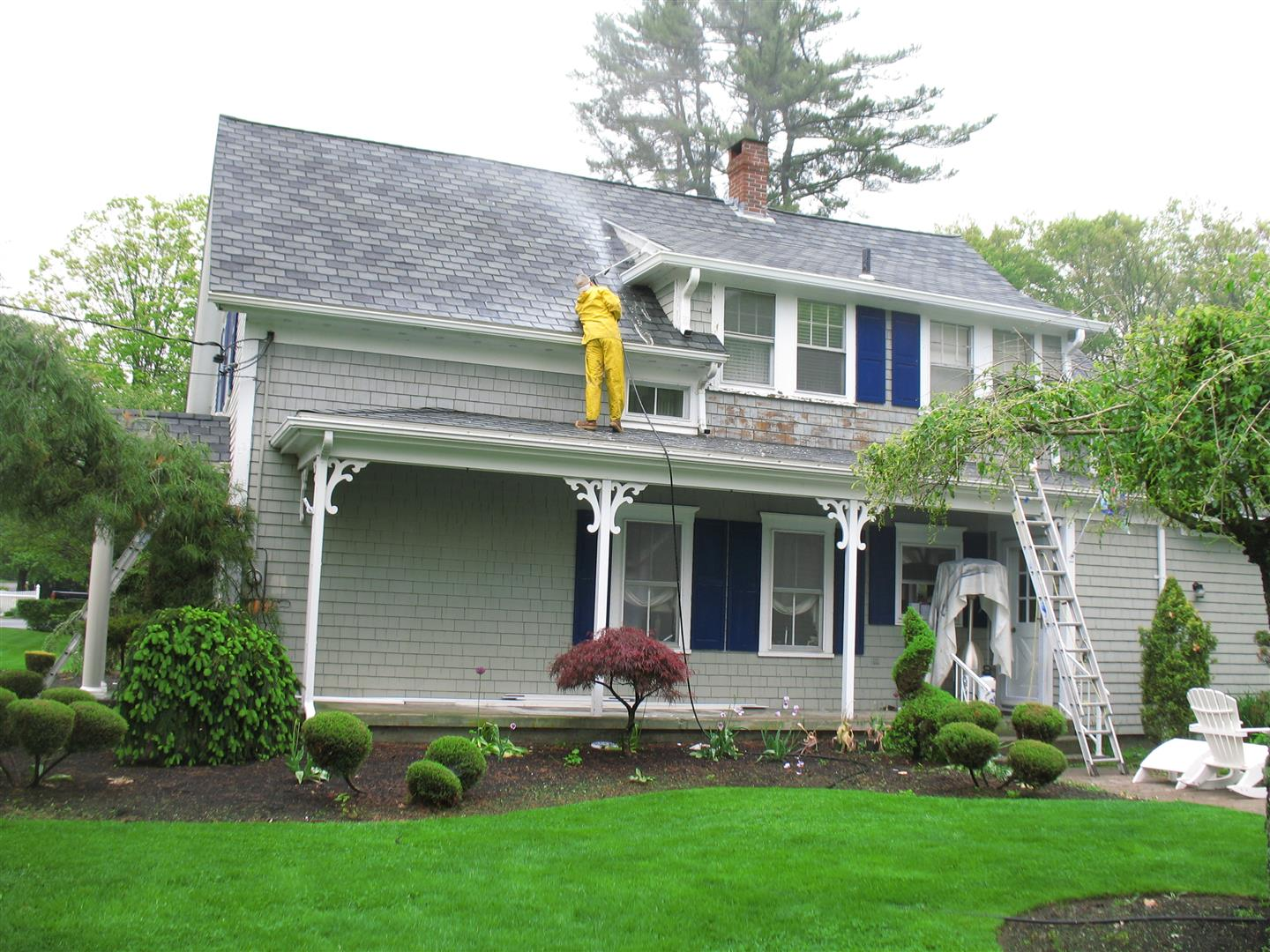 Exterior Painting Contractor In Massachusetts Think Painting